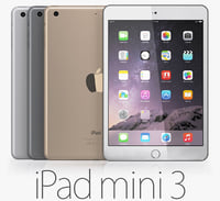 3d ipad mini 3 model