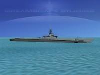 subs balao class submarines 3d dwg