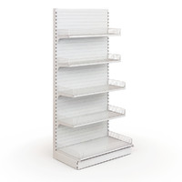 shelving shop 3d fbx