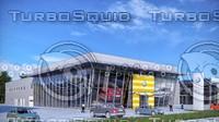 auto centre 3d max