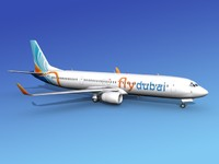 3ds max 737-900er 737 airplane 737-900