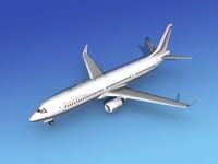 3d 737-900er 737 airplane 737-900