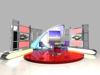 news studio 005 3d obj