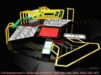 016-Entertainment-Tv Studio Set Design