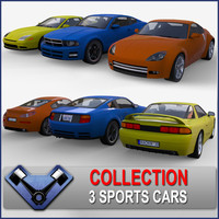 3ds max generic sport car