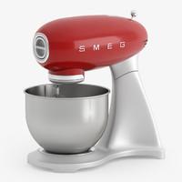 smeg mixer 3d max