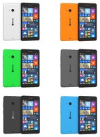 microsoft lumia 535 colors 3d 3ds