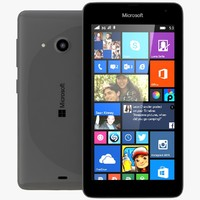 microsoft lumia 535 dual 3d c4d