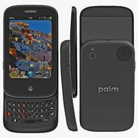 3d model palm pre 2