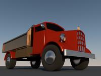 3d 3ds mini truck