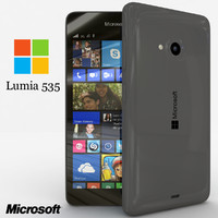3d model microsoft lumia 535