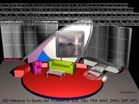 talk virtual sets stage 3d dxf