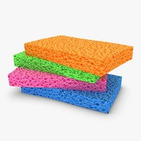 sponge 4 colors 3ds