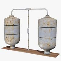 3d boilers model