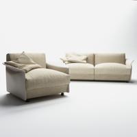 giorgetti-armchair-fabula 3d model