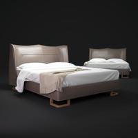 3d giorgetti-bed model