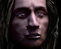 frederic chopin head body 3d max
