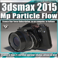 3ds max 2015 MP Particle Flow Subscription
