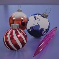 christmas balls 3ds