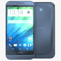 3d htc desire 510 dark grey