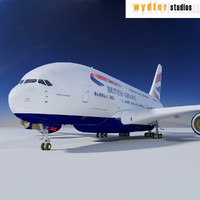 3ds a380 british airways