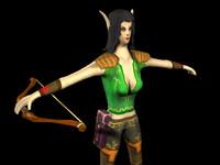 max archer elf