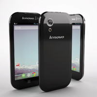 3d unissued smartphone lenovo model