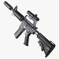 Colt AR 15 Scoped