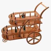 3d cart - model