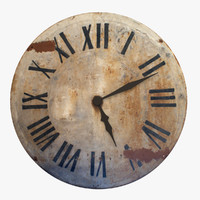 maya rustic wall clock