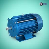 3ds max electric motor