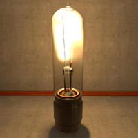 Thin Large Electric Light Bulb Filament Lamp