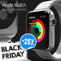 3d apple watch - model