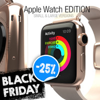 apple watch edition - 3d max