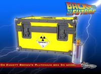 dr plutonium box 3d c4d