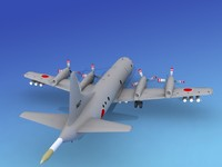orion lockheed p-3 3d model