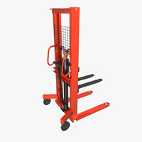 warehouse pallet jack fbx