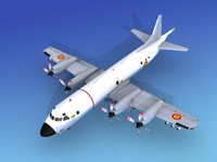 3ds max orion lockheed p-3 navy