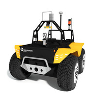 3d grizzly robotic utility vehicle