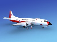 orion lockheed p-3 3d max