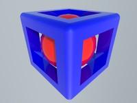 ball cube 3d model