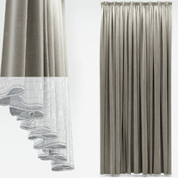 3ds max curtains
