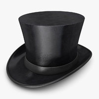 3d model hat tophat