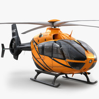 Eurocopter EC 135 Private Orange