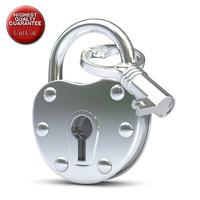3d 3ds lock padlock