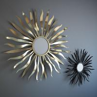 mirror sun 3d max
