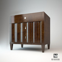 3d selva chest drawers model