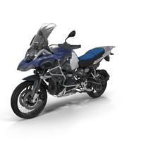 enduro bmw r1200gs adventure 3d model