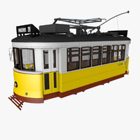 3d lisbon tram model