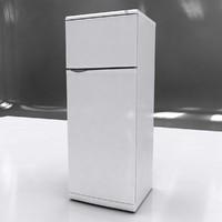 refrigerator 3d obj